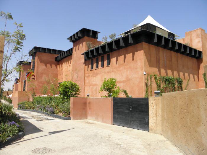 Stadt und Leute Marrakesch, Urlaub und Reisen bei